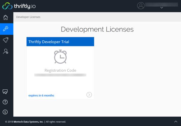 developer license registration code