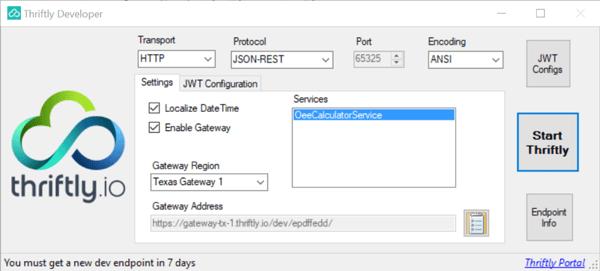expose on-premises logic through native cloud service