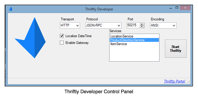 thriftly-developer-control-panel